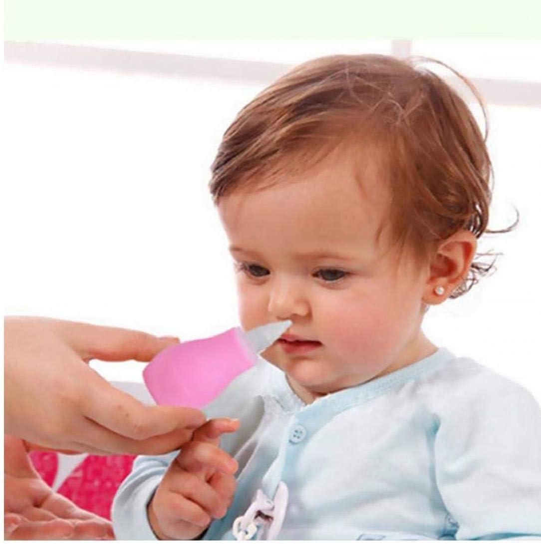 veklblan Les B/éb/és Et Booger Mouche Sucker pour Adultes Et Enfants en Bas /âge Newborns sans BPA Safe Nez Cleaner Nettoyable Et R/éutilisable Nez Seringue doreille Sucker Bleu Et Rose