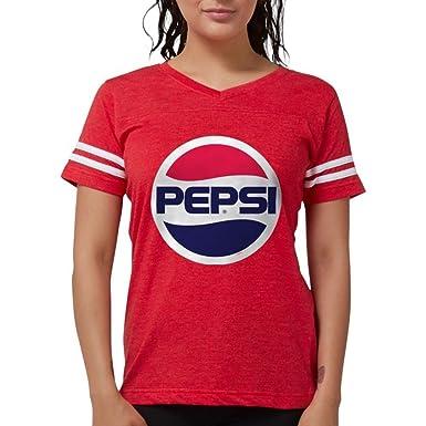 1fde95c1 Amazon.com: CafePress - Pepsi 90S Logo - Womens Football Shirt: Clothing