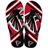 Atlanta Falcons 2013 Official NFL Unisex Flip Flop Beach Shoes Sandals slippers size Large