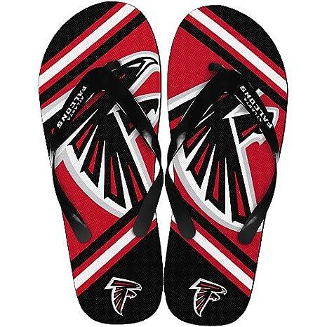 9d759777817 Image Unavailable. Image not available for. Color  Atlanta Falcons 2013  Official NFL Unisex Flip Flop ...