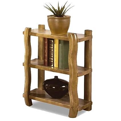 XIAOLIN Libreria in legno massello Libreria in legno grezzo Libreria ...