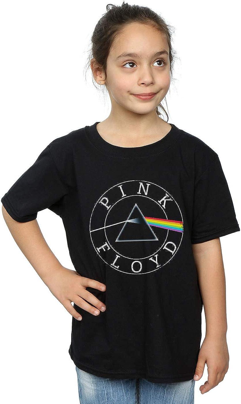 Pink Floyd Girls Prism Circle Logo T-Shirt