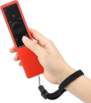 MWOOT Funda Compatible con Mando de Samsung 4K UHD Smart TV, Rojo Silicona Carcasas para Mando de Smart TV Samsung BN59-01241A BN59-01242A BN59-01292A: Amazon.es: Electrónica