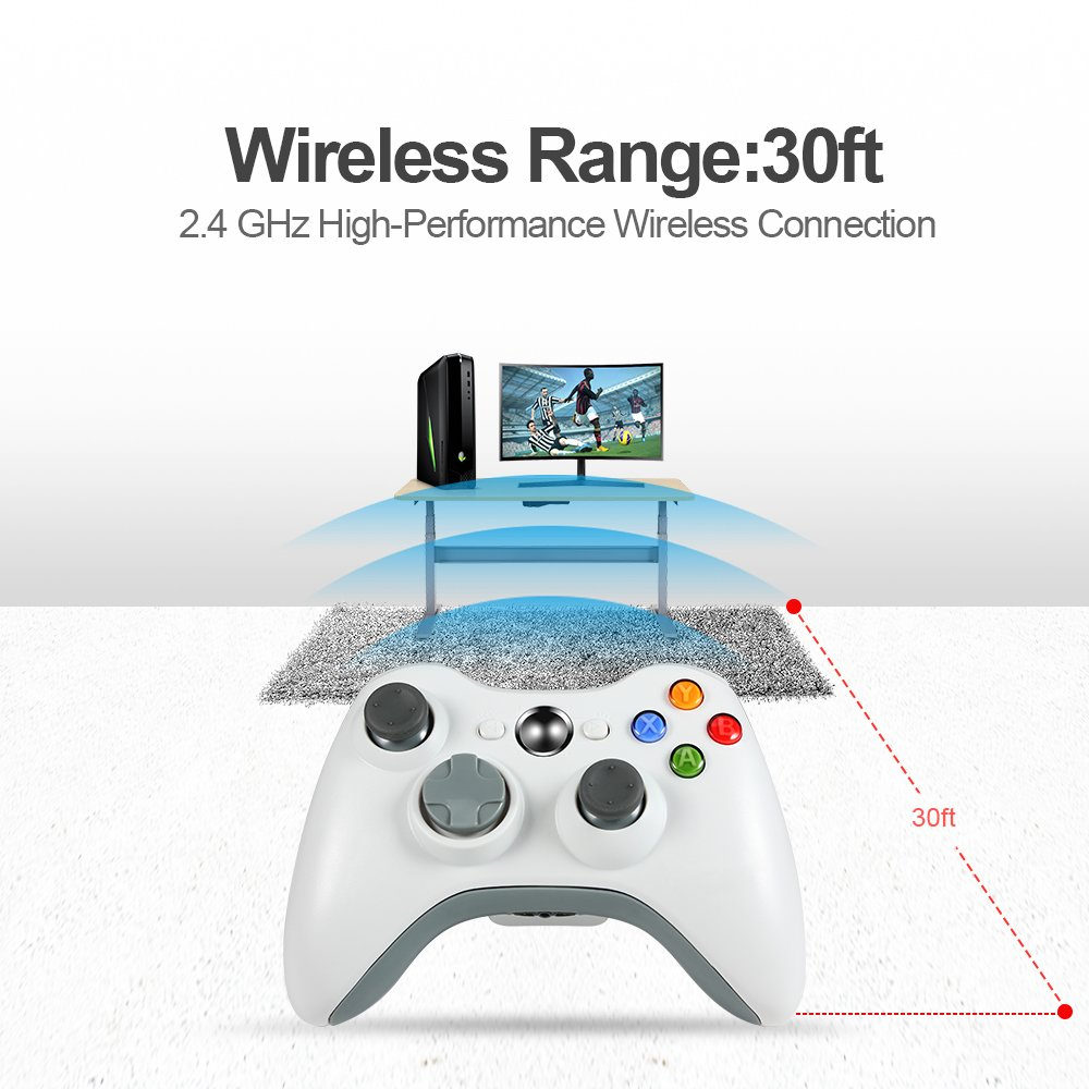 Amazon.com: Wireless PC Controller,Wetoph GD01 Wireless Gamepad for ...