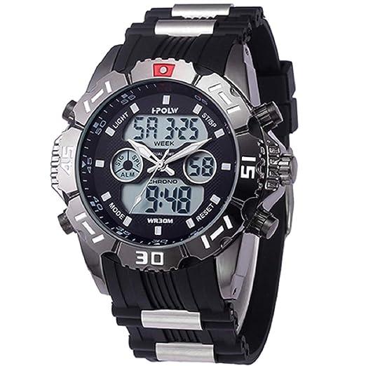 97dd3655c849 Reloj Digital analógico Deportivo para Hombre