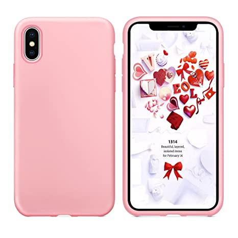 custodia microfibra iphone x
