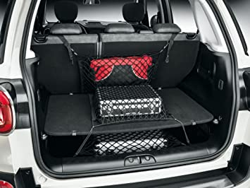 Fiat Official Genuine 500l Boot Storage Luggage Compartment Nets Set