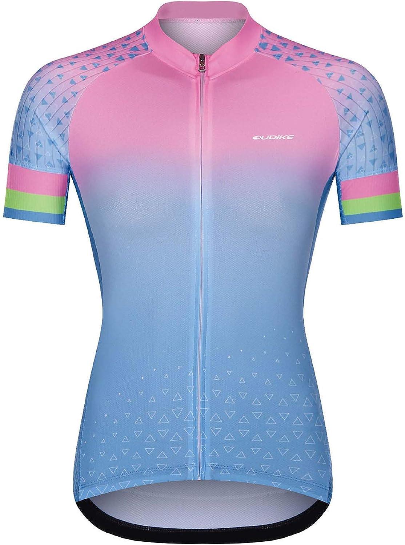 Cycling Jersey Women Short Sleeve Ladies Cycling Tops Women Bike Shirt Comfortable Quick Dry