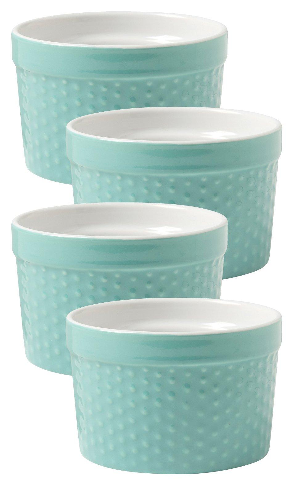 Now Designs Dot Ramekins, Surf Blue, Set of 4 by Now Designs (Image #2)