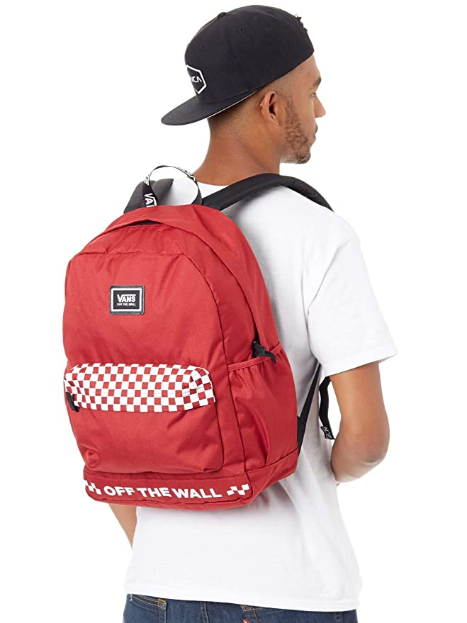 349dfd4fcab41 VANS - MOCHILA - WM SPORTY REALM PLUS SCOOTER - ROJO (TALLA UNICA)   Amazon.es  Equipaje