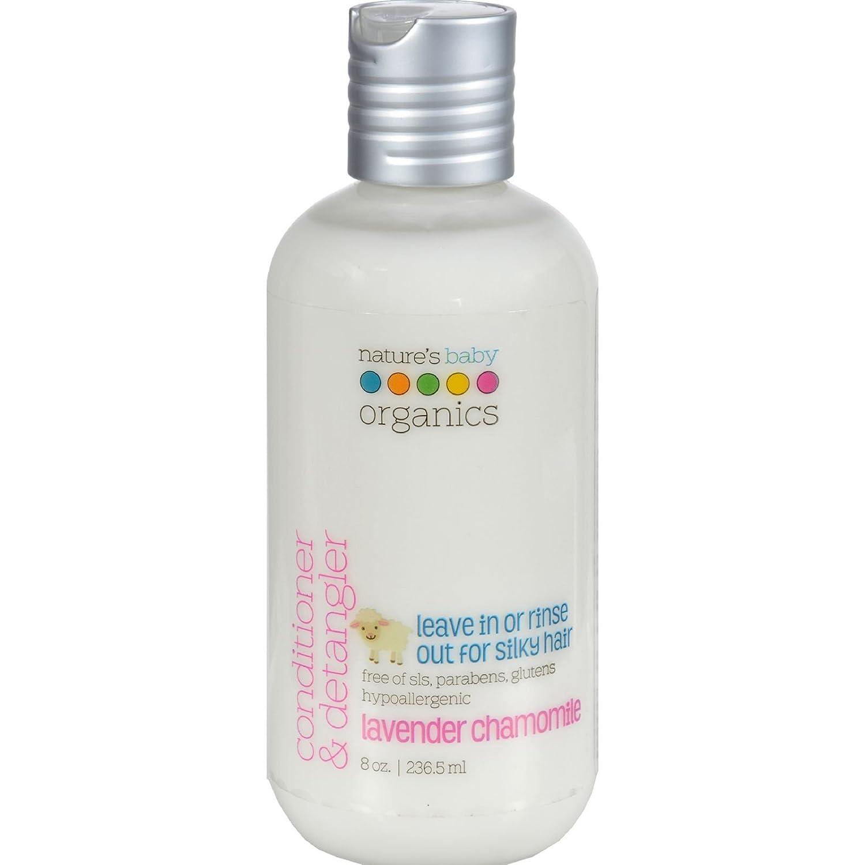 Nature's Baby Organics Conditioner and Detangler Lavender Chamomile - 8 fl oz U-Nutra