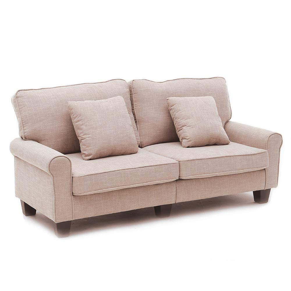 Luxes sofa couch living room sofa line fabric classic modern furniture couches amazon co uk kitchen home