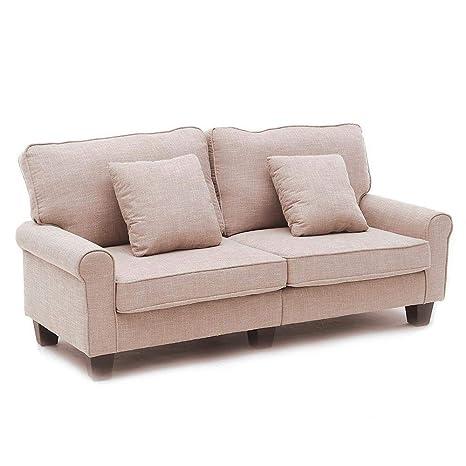 LUXES Sofá de Lujo, sofá de salón, sofá de Tela clásica y ...