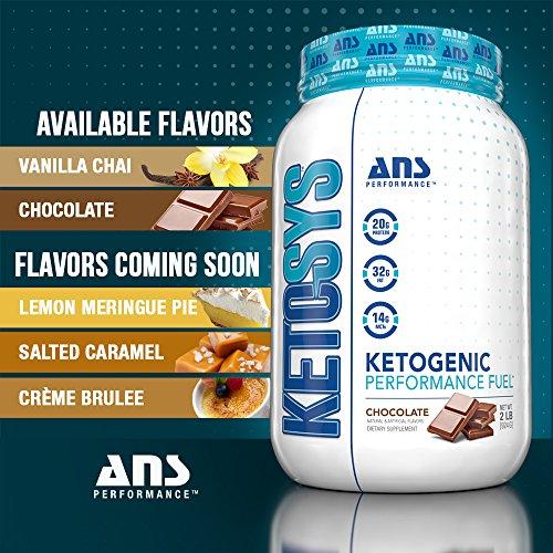 KETOSYS Ketogenic Performance Fuel Vanilla Chai