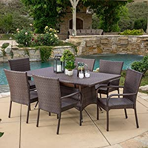 61ESrlJDIvL._SS300_ Wicker Dining Tables & Wicker Patio Dining Sets