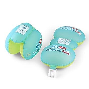 2 brazaletes flotantes para Piscina de niños – Seguridad de la boya Inflable Anillos de natación