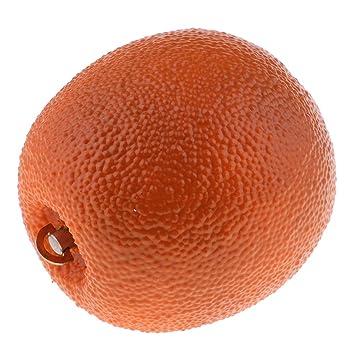 Baoblaze Caja de Música Fruta Realista de Simulación de Plástico para Decoración de Hogar Peach Cabinet - Naranja: Amazon.es: Juguetes y juegos
