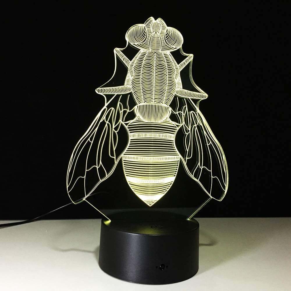 Fuente de alimentación de la lámpara de Mesa de los Personajes de Dibujos Animados de la lámpara de Mesa de la colección de luz Nocturna de Cambio de Color