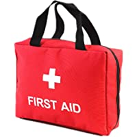 First Aid Bag Empty Travel Rescue Bag Empty Pouch First Responder Storage Compact Survival Medicine Bag Pocket Container…