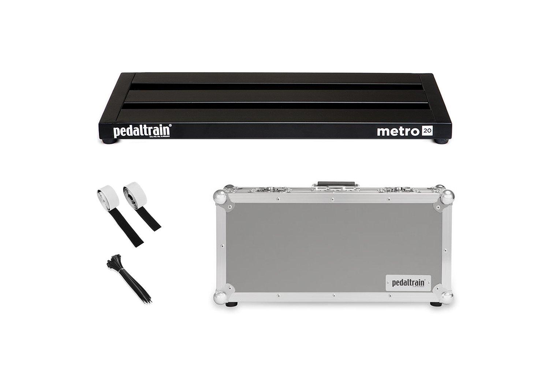 Pedaltrain Metro 20 TC 20x8 Pedalboard with Tour Case (PT-M20-TC)
