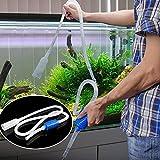 Aquarium Fish Tank Cleaner Siphon Pump Gravel Vacuum Water Filter