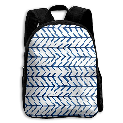 Indigo Lightweight Tote (NHRTYHFWDG Customized School Backpack Indigo Herringbone Chevron(5816) Childrenâ€s Backpack,Shoulders Bag,Casual Backpack,Travel Backpack)