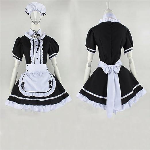 vestido de la criada de Cosplay del Anime japonés trajes ...