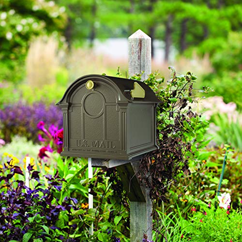 Whitehall Products Balmoral Mailbox, Bronze by Whitehall (Image #3)