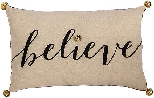 Cypress Home Believe Lumbar Pillow