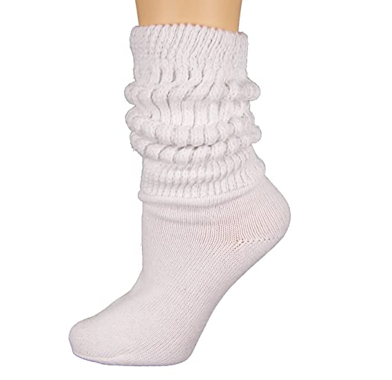 5b5e28e79 Heavy Slouch Sock Women s White Elliesox Excell Lis-Mar Charlotte at ...