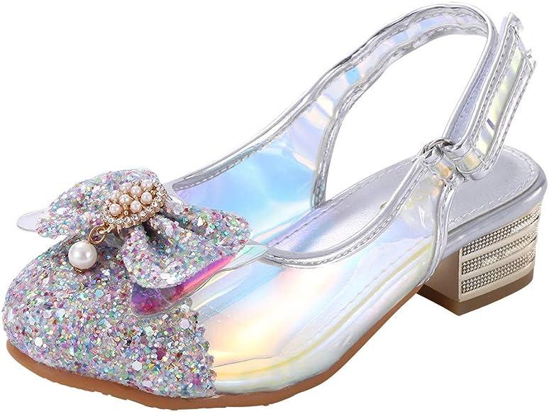 Amazon.com | Wangwang Silver Sandals