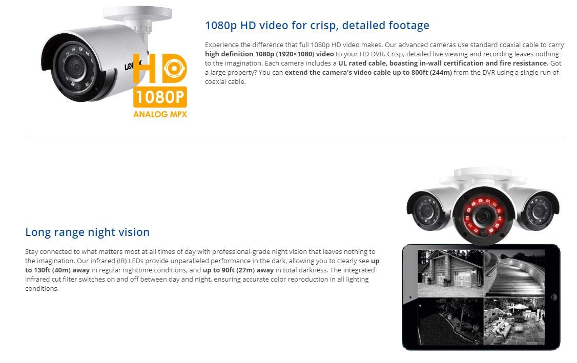 1080p HD Analog Add-on Security Camera
