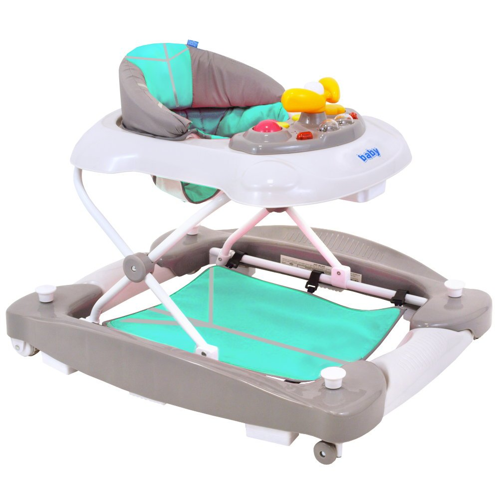 Andador gehfrei de 2 in1 bebés y niños unidad carro con balancín ...