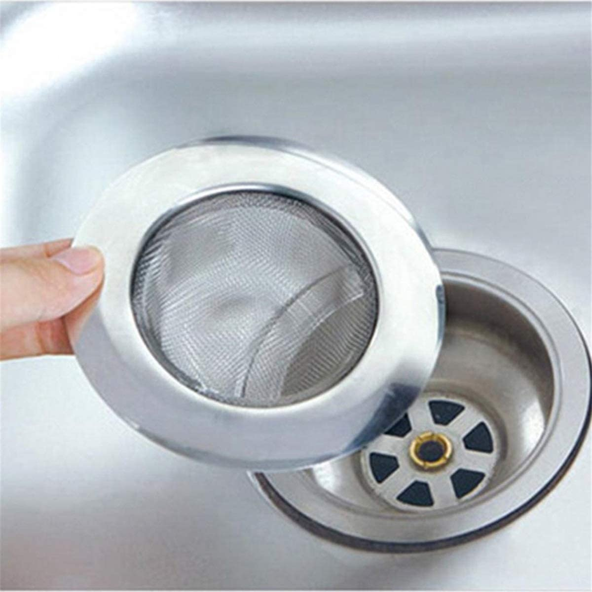 Bath Tub Hair Catcher Stopper Trap Shower Basin Hole Plug Strainer Filter BIUK