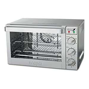 Waring Commercial WCO500X 1/2-Sheet Pan Sized Convection Oven
