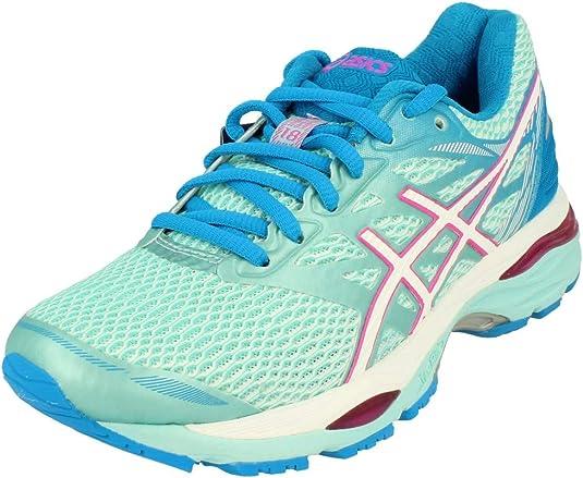 ASICS T6C8N6701, Zapatillas de Running para Mujer, Azul (Aqua Splash / White / Pink Glow), 37.5 EU: Amazon.es: Zapatos y complementos