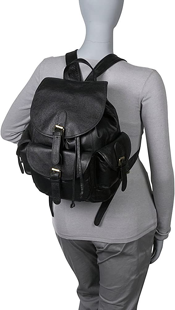 Amerileather Urban Buckle- Flap BackPack 1822-024