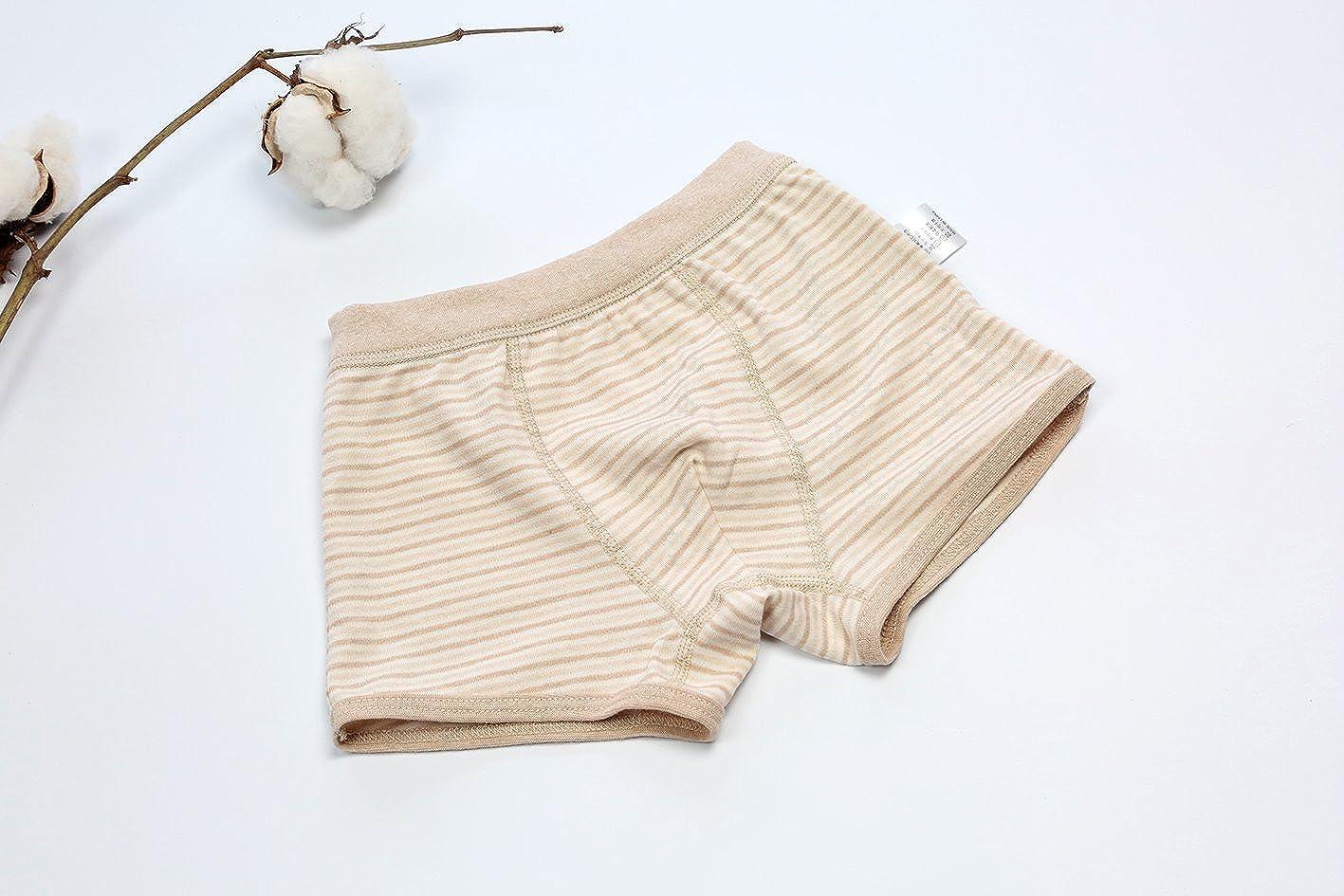 GZMM Toddler Kids Boys Boxer Briefs Underwear Organic Cotton 3 Pack