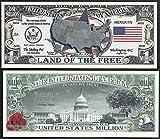 US State Million Dollar Novelty Bill COMPLETE SET