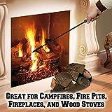BenefitUSA New Campfire Fireplace Fire Poker Tool