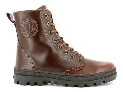 Palladium - Pallabosse Off Leather - 95527-237-M - Damen Stiefel Boot Braun (Sunrise / Chocolate) (37)