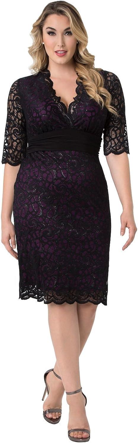 Kiyonna Women\'s Plus Size Lumiere Lace Dress