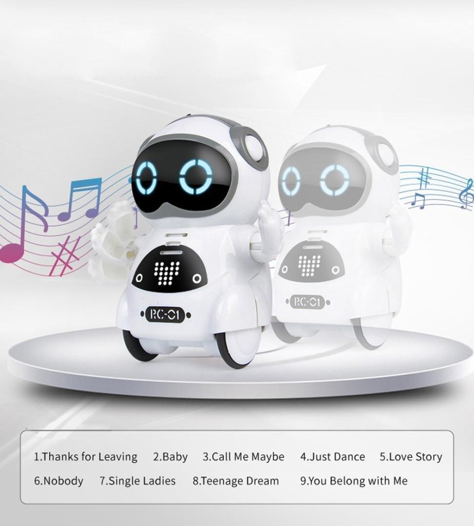 Amazon com: Gbell Mini Speech Dialogue Robot - Sensing Touch Music