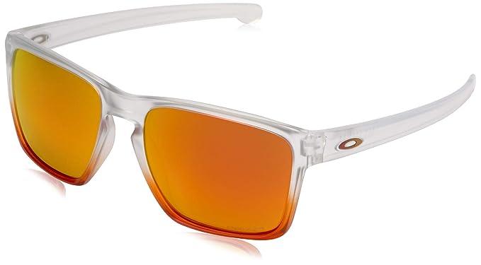 4bc45565074 Amazon.com  Oakley Men s Sliver XL Non-Polarized Iridium Rectangular ...