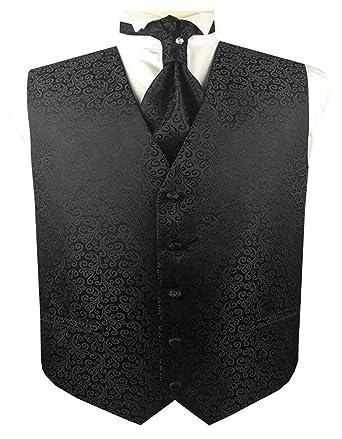 Men/'s Wedding Formal Pure White Scroll Waistcoat Brand New  Wedding Vest Tux