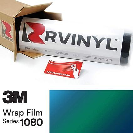 3M 1080 SP276 SATIN FLIP CARIBBEAN SHIMMER Vinyl Vehicle Wrap Film Sheet Roll