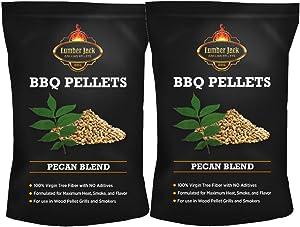 Lumber Jack Pecan Blend BBQ Grilling Pellets 40 LB Bag