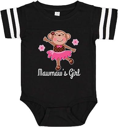 inktastic Mawmaw Girl Ballerina Monkey Toddler T-Shirt