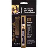 Speedball Mona Lisa Adhesive Pen and Gold Simple Leaf Set