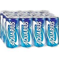 Aquarius Original Isotonic Drink, 330ml (Pack of 12)
